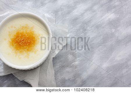 Wheat Semolina (farina) With Milk And Brown Cane Sugar