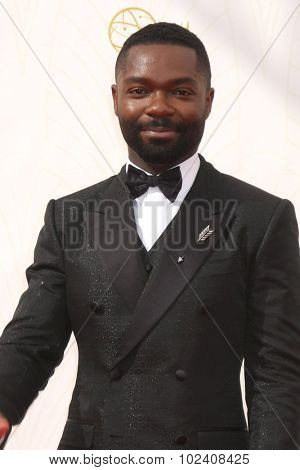 LOS ANGELES - SEP 20:  David Oyelowo at the Primetime Emmy Awards Arrivals at the Microsoft Theater on September 20, 2015 in Los Angeles, CA