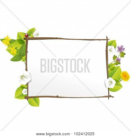 Spring Nature Sign