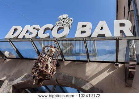 Pr Skelet Disco Bar Ljubljana Slovenia