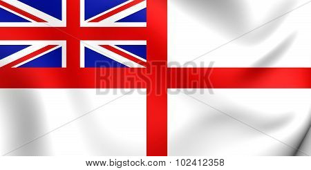 Naval Ensign Of United Kingdom