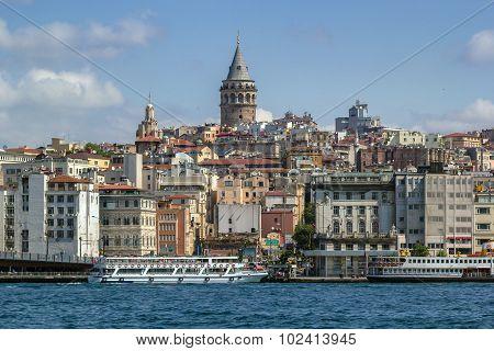 View Of  Istanbul Beyoglu Area