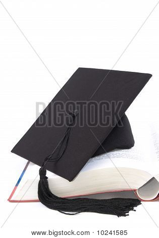Student Hat And Book
