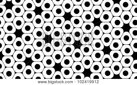 Vector modern seamless geometry pattern cells