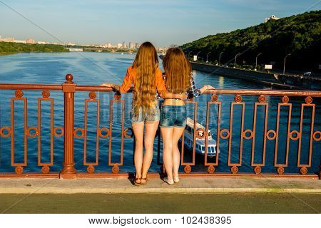 Lesbians Are On The Waterfront.
