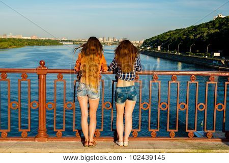 Girlfriends Are On The Waterfront.