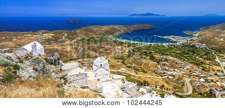 traditional Greece - scenic views of Serifos island, Cyclades