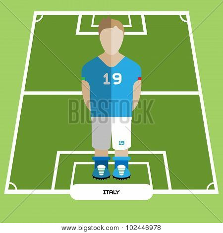 Computer Game Italy Football Club Player