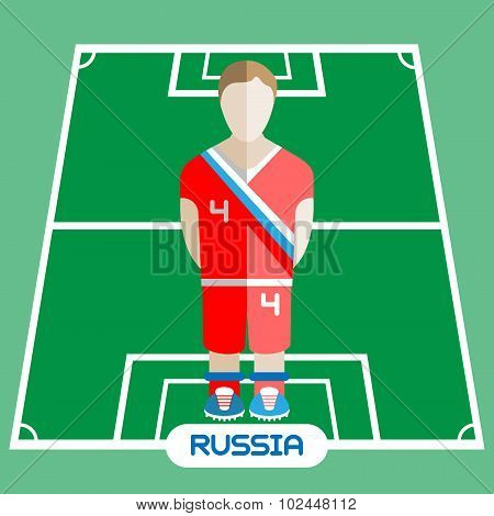 Computer Game Russia Football Club Player