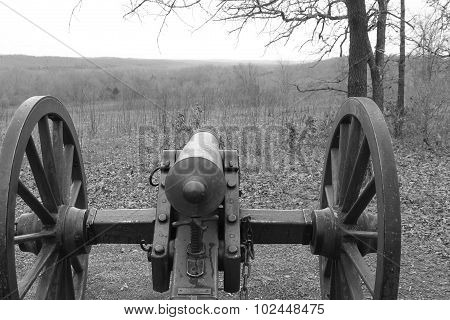 Cannon At Wilson's Creek