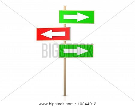 Signpost - Right Way
