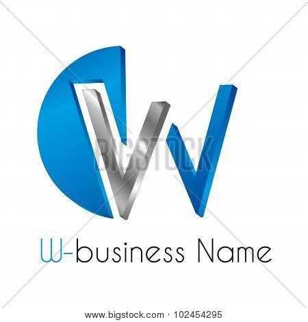 Letter Logo W