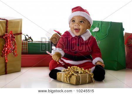 Delighted Santa
