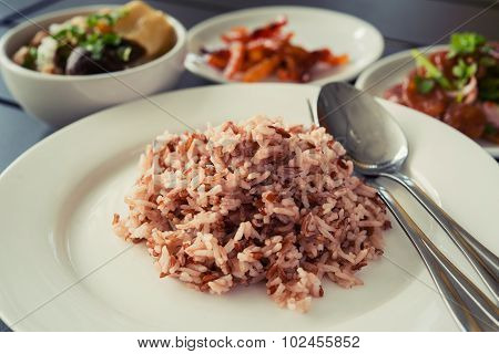 Brown Rice Organic Cooked Ready To Eat For Good Health.