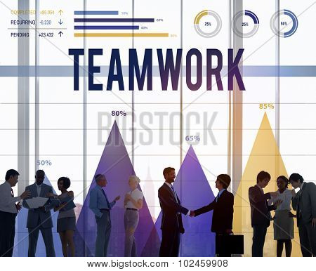 Teamwork Team Collaboration Cooperation Partner Concept