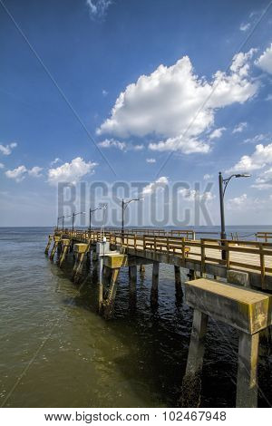 Long Pier into the Atlantic
