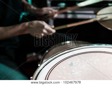 Drummer Abstract