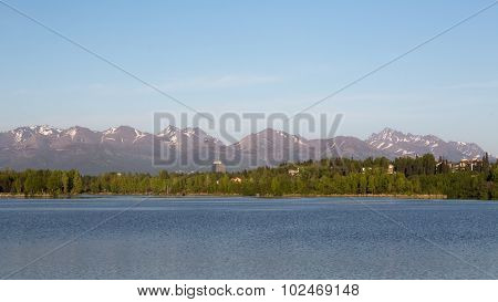 Westchester Lagoon in Anchorage