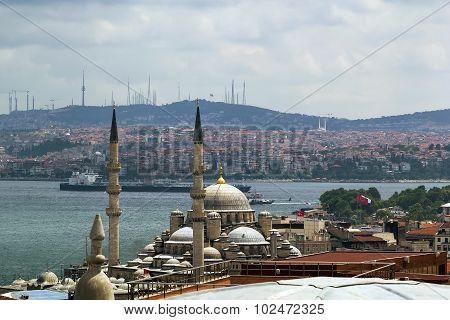 View Of Bosforus, Istanbul