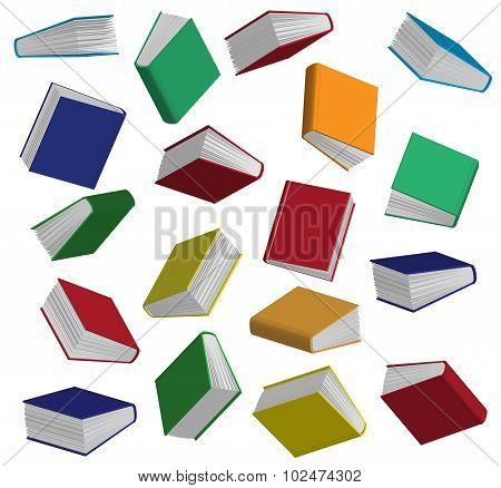 Books In Vector