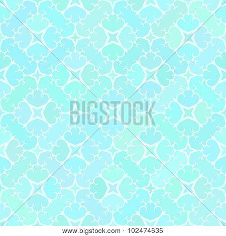 Abstract vector background, Seamless Aquamarine colors pattern