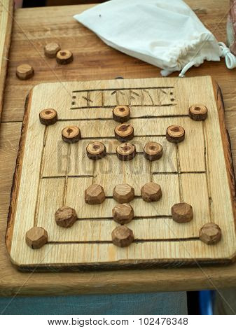 Old Medieval Board Game