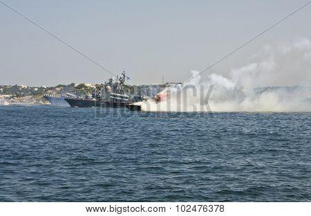 Russian Military Ships, Sevastopol, Crimea