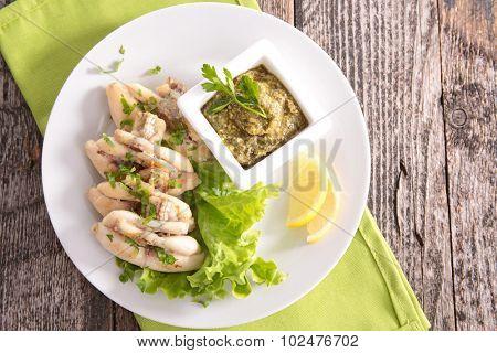 french dish, frog leg
