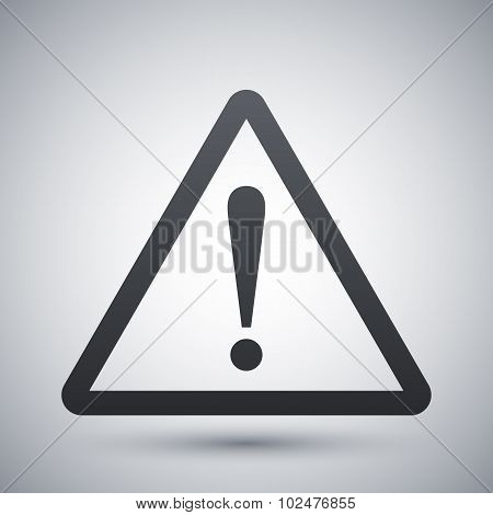 Warning Attention Sign With Exclamation Mark Symbol