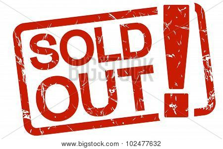Red Stamp Sold Out!