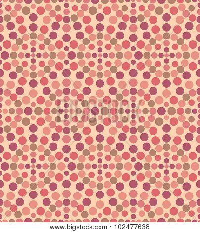 Geometric Circle Seamless Pattern.