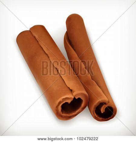 Cinnamon, vector icon