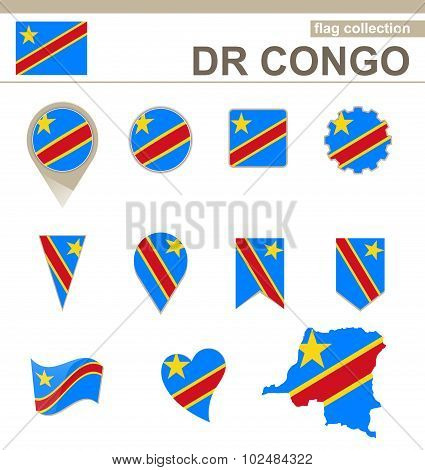 Dr Congo Flag Collection