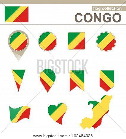 Congo Flag Collection