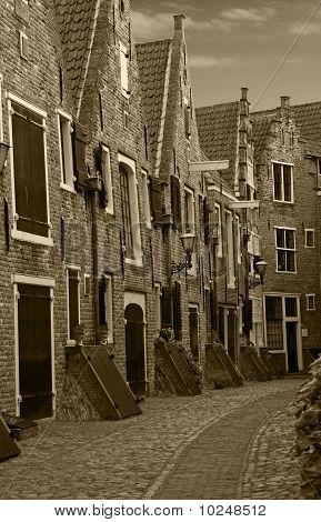 Old Warehouses in the Kuiperspoort, Middelburg