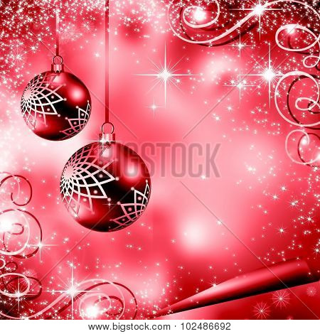 The best red Christmas background