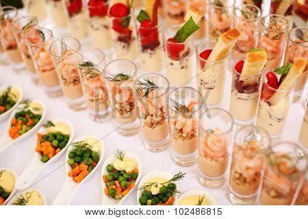 Seafood Cocktail table