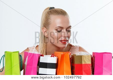 Happy Birthday And Gifts Concept