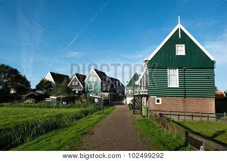 Rural village of Marken