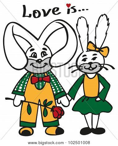 Loving Rabbits