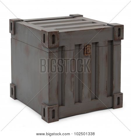 Gray Freight Containers