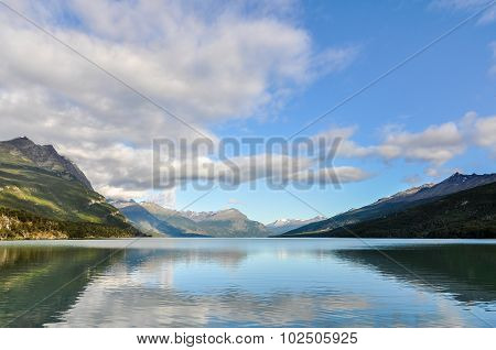 Lago Roca in Ushuaia, Argentina