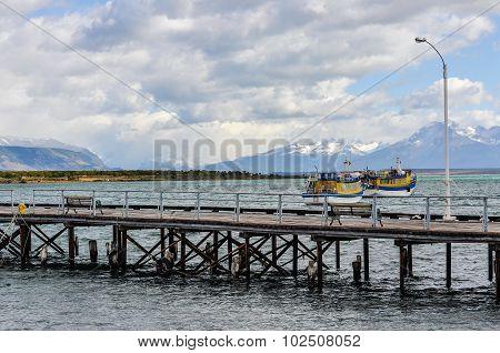 Boats, Puerto Natales, Patagonia, Chile