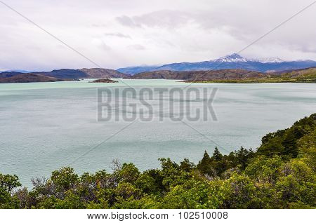 Lake View, Torres Del Paine National Park, Chile