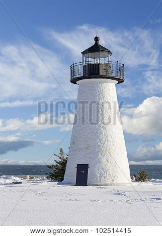 Ned's Point Lighthouse In Mattapoisett Ma