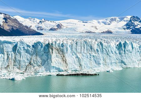 Frontal View, Perito Moreno Glacier, Argentina