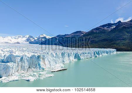 Side View, Perito Moreno Glacier, Argentina