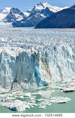 Icy Landscape, Perito Moreno Glacier, Argentina