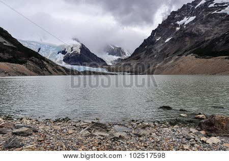 Lake At Cerro Torre, El Chalten, Argentina