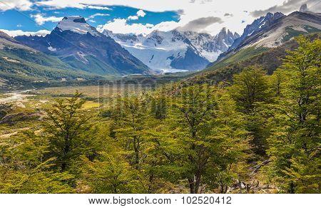 The Valley Of Cerro Torre, El Chalten, Argentina